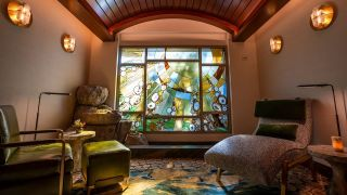 Tenaya Stone Spa relaxation room at Disney's Grand Californian Hotel