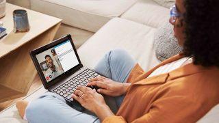 Amazon Fire HD 10 Plus productivity bundle