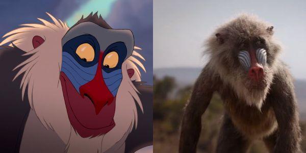 Rafiki's original version side by side with remake version