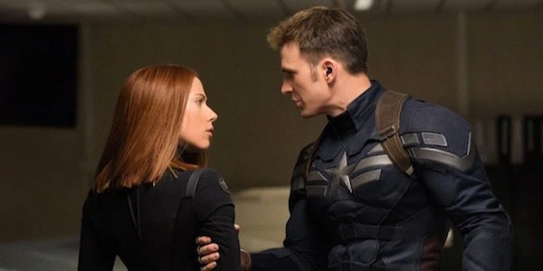 Widow and Cap in The Winter Soldier