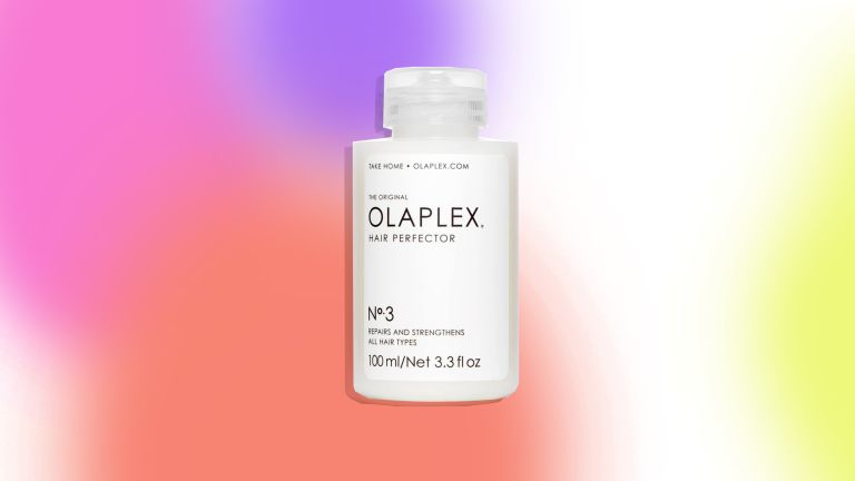 An image of the Olaplex No 3 is pictured to depict our Olaplex No 3 review