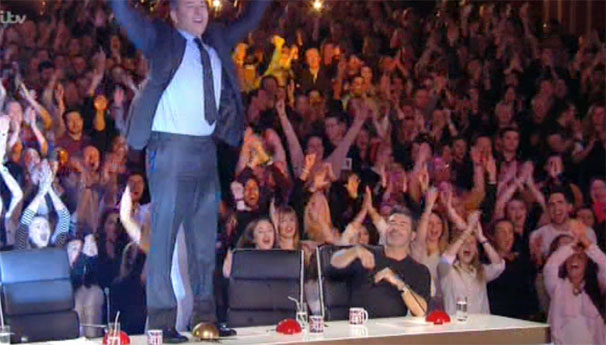 David Walliams Hits The Golden Buzzer For A Love Story On