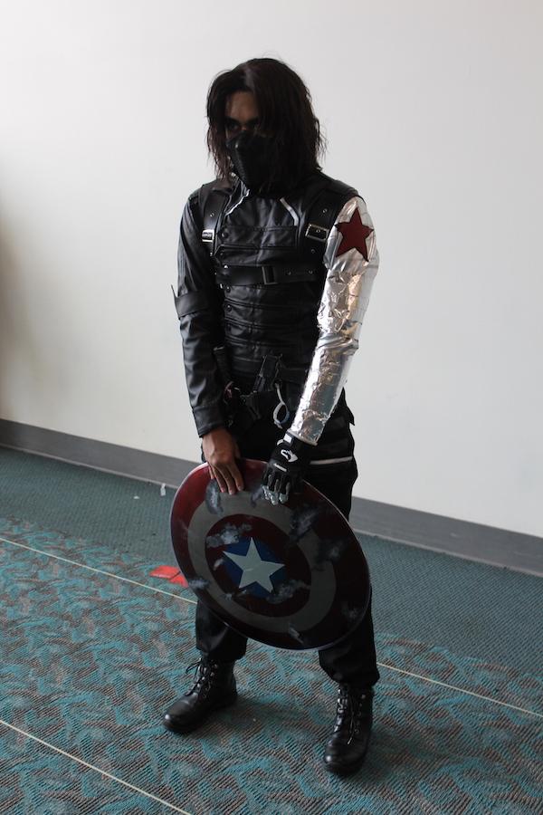 SDCC costume bucky