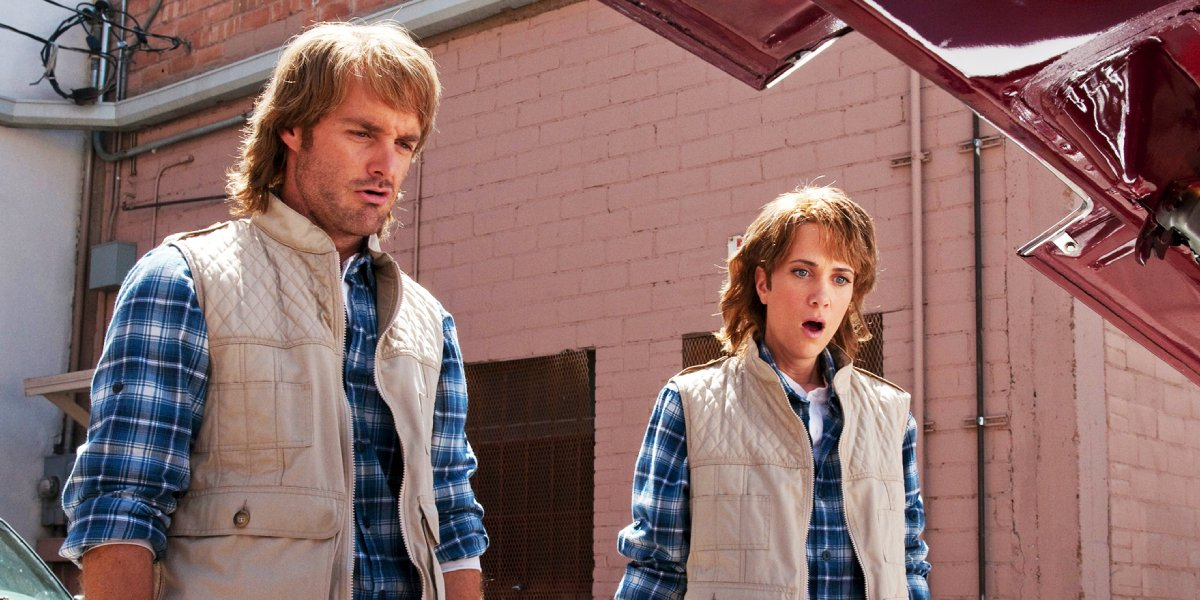 Will Forte and Kristen Wiig in MacGruber