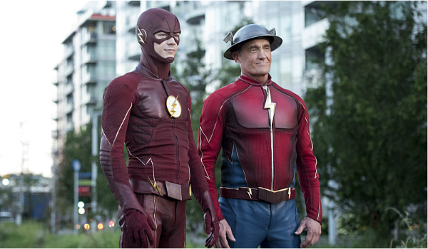 barry allen and jay garrick the flash season 3