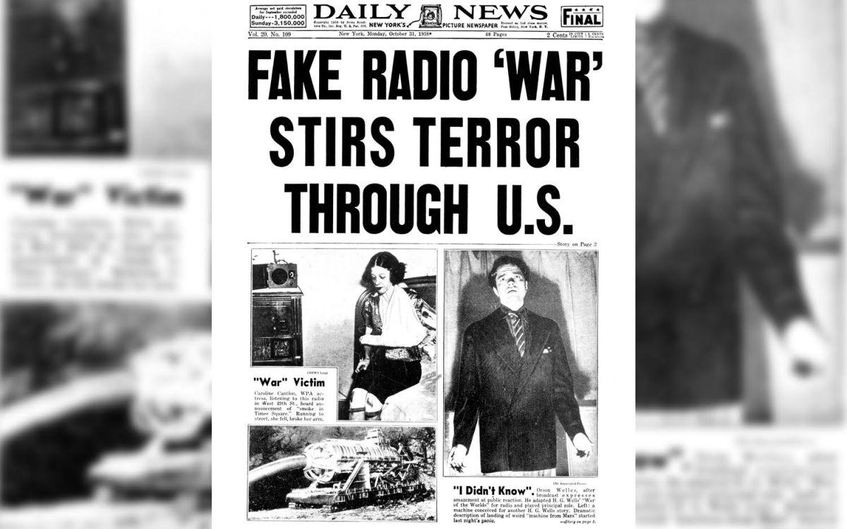 Alien Invasion' Radio Broadcast Terrified Listeners 80 Years