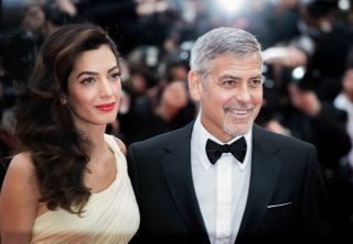 George and Amal Clooney in Cannes, France in 2016