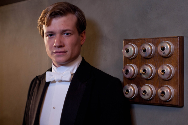 A quick chat with Downton Abbey's Ed Speleers