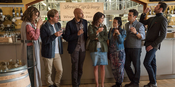 friends  college review netflixs  comedy requires   embrace  flawed group
