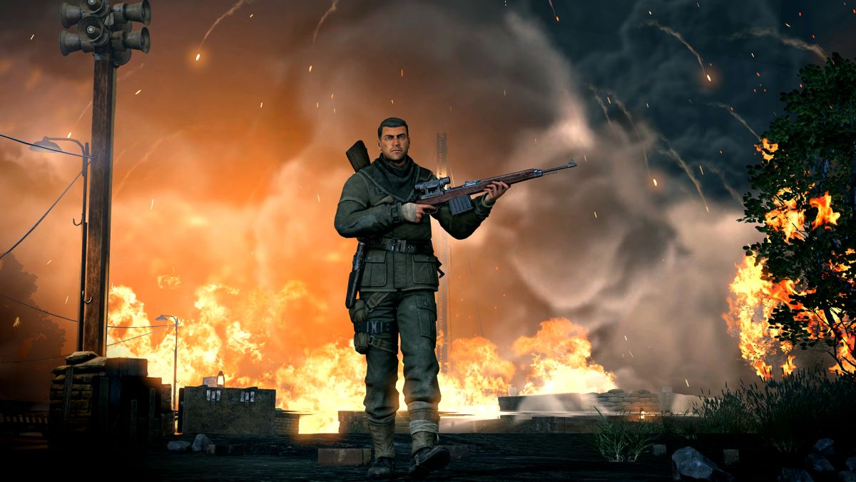 Sniper Elite 5, Sniper Elite VR and Sniper Elite V2 Remastered announced