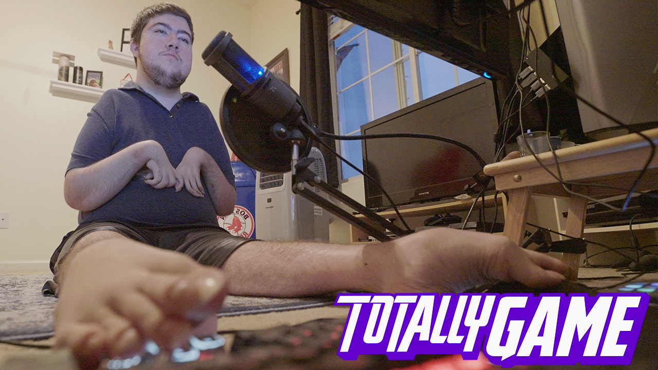 Totally Game: This Overwatch master plays exclusively with his feet