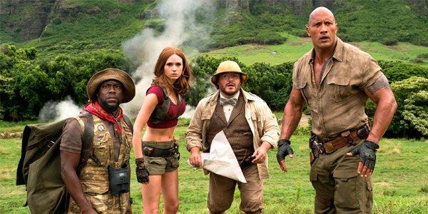 Jumanji Welcome To The Jungle Cast Photo