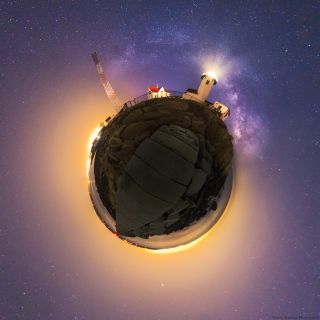 Milky Way Circular Panorama by Mamtani