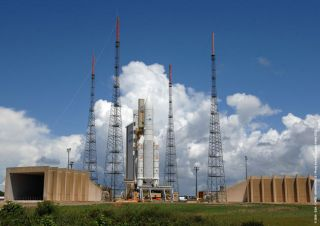 Two Satellites in Orbit After Good Ride from Ariane 5