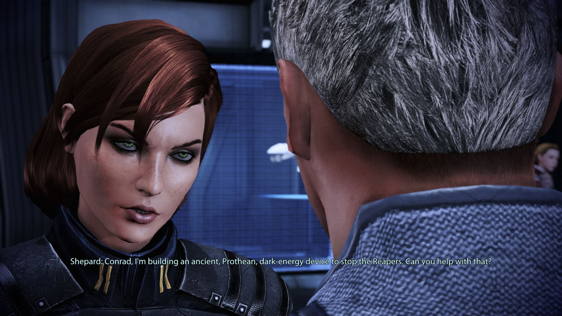 Shepard snarks at Conrad Verner
