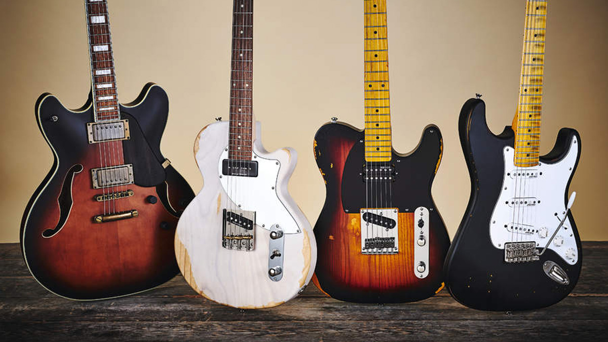 79853cfdc67 Review round-up  budget relic d electric guitars