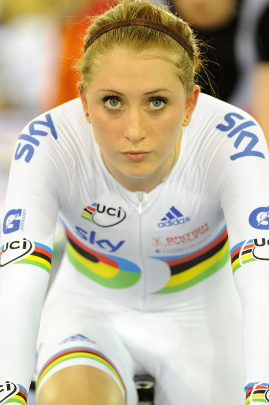 Laura Trott, London Track World Cup 2012, day two
