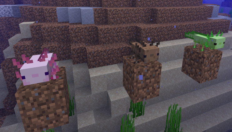 Archaeology, waterfall caverns, and axolotls are coming to Minecraft next  Summer | PC Gamer