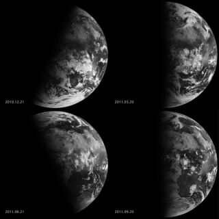 Fall Equinox from Space
