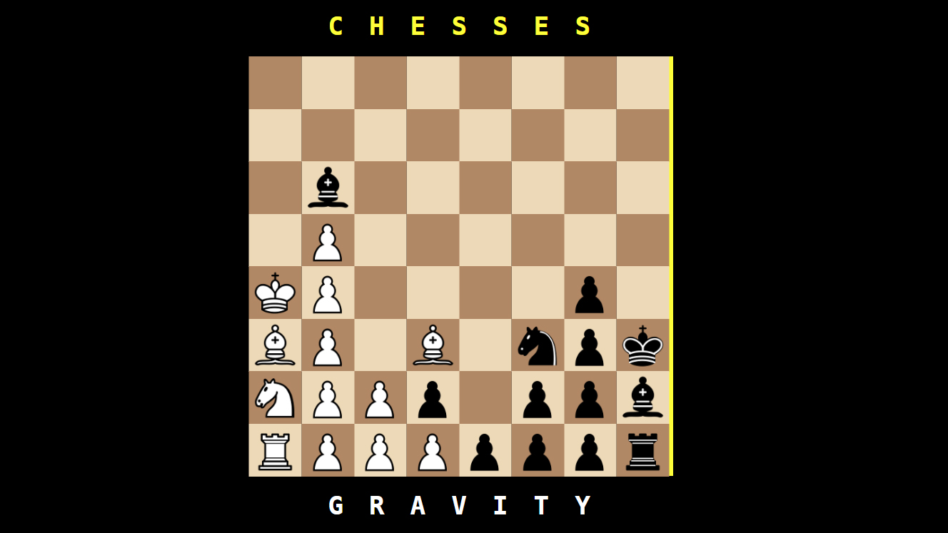 This confounding game is chess, but with gravity | PC Gamer