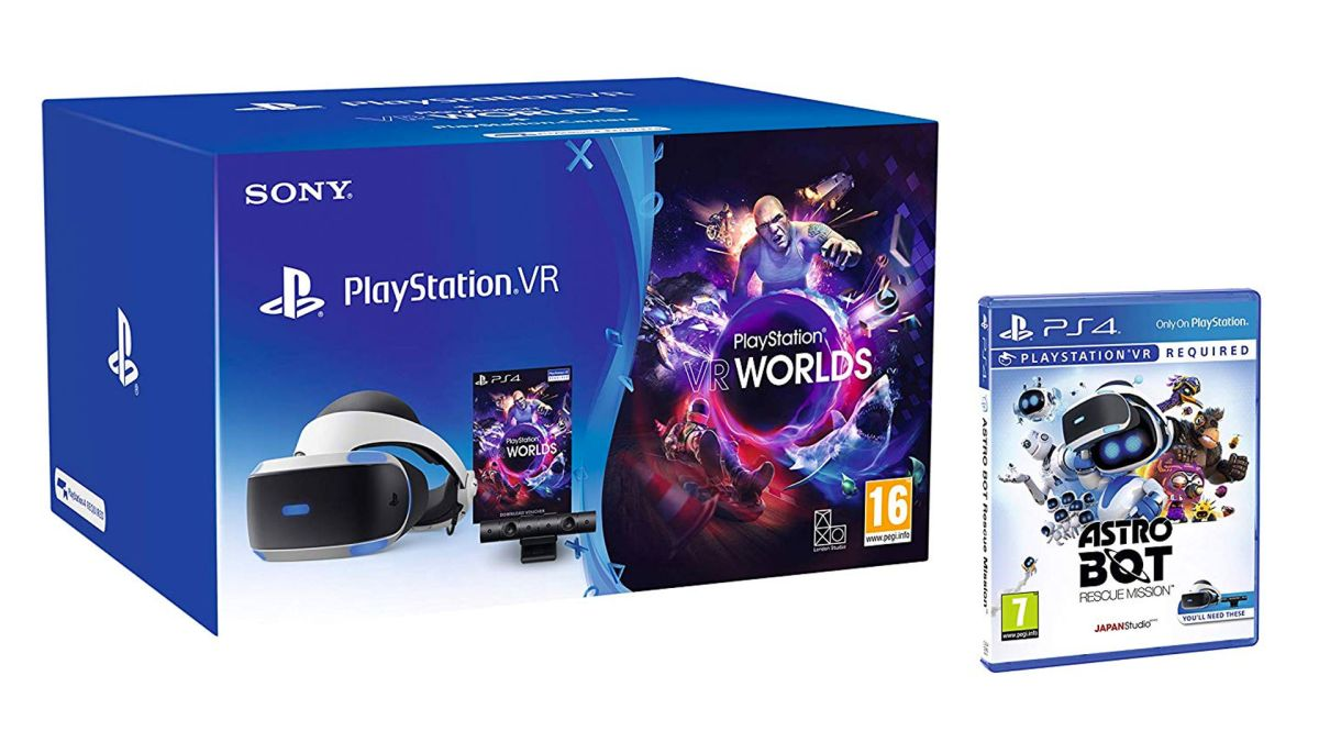 A PSVR starter kit with AstroBot for under £180 from Amazon? That's 30% saving, and an absolute steal