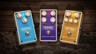 Mesa/Boogie Cleo, Dynaplex and Gold Mine pedals