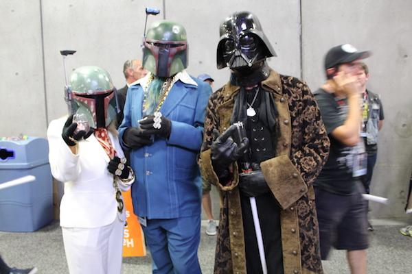 SDCC Costume Boba Fett Darth Vader