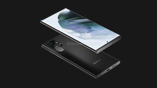 Photos of Samsung Galaxy S22 phone