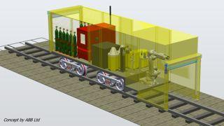 Amey Automated Rail Refurbishment Concept