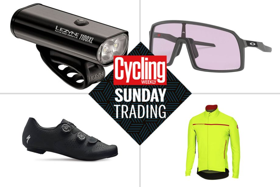 Sunday trading: Massive deals on Autumn essentials, including Castelli winter kit and Lezyne lights