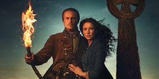 outlander season 5 jamie claire starz torch fiery cross