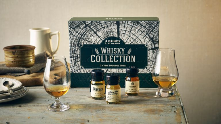 Burn's Night must-haves: 12 Dram Whisky Collection From Drinks By The Dram on table setup