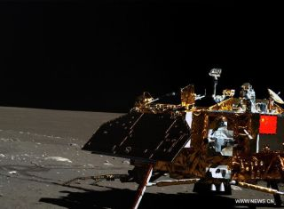 Chang'e 3 Lander During Its Third Lunar Day