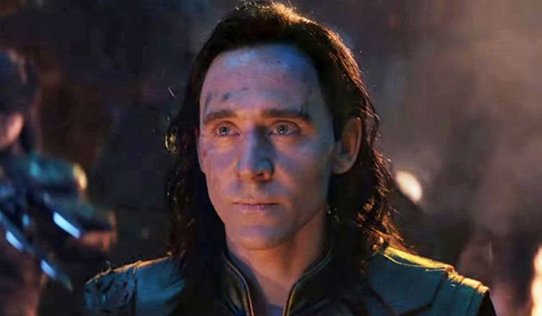 Tom Hiddlestone as Loki