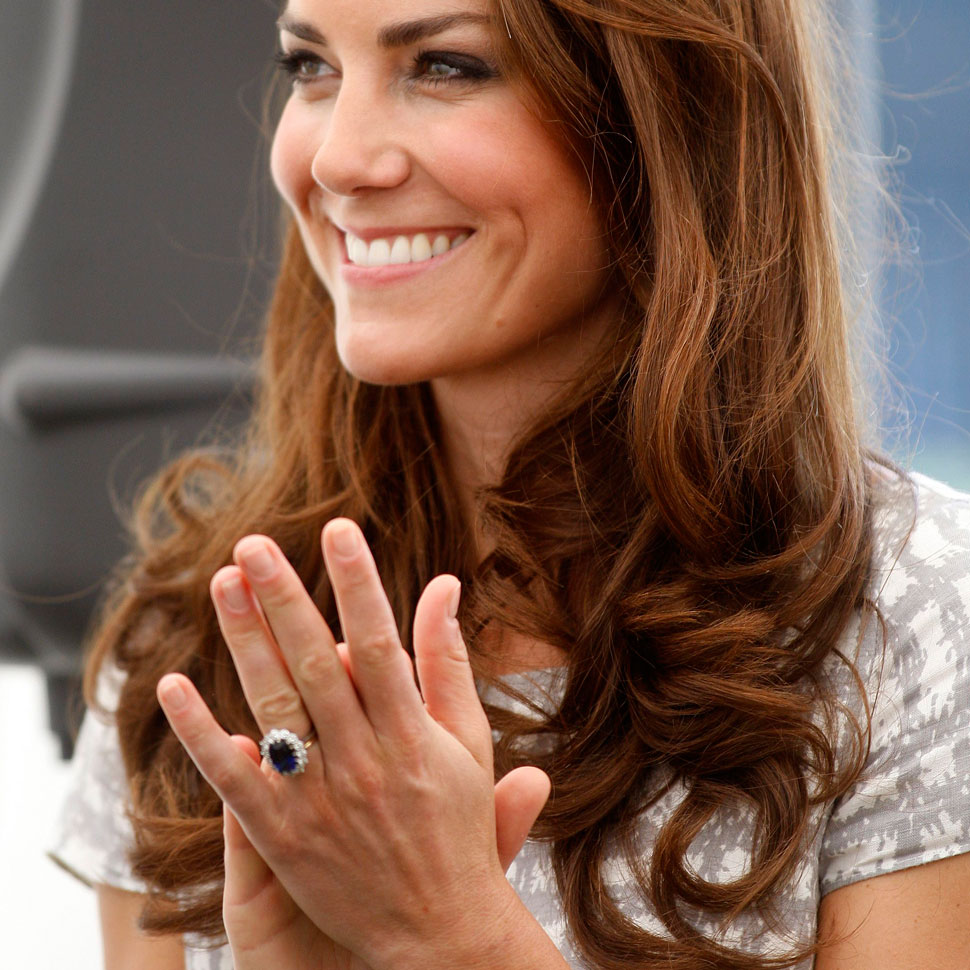 Celebrity Wedding Sets: Princess Eugenie Engagement Ring: The Touching