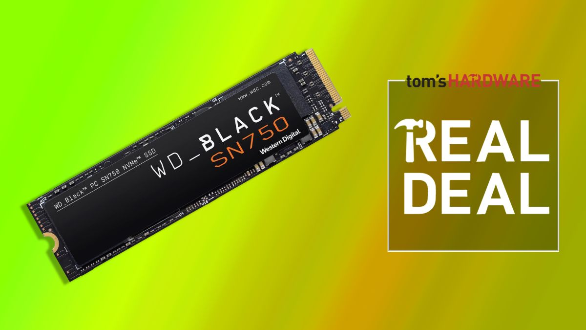 Get  off This WD Black SN750 1TB NVMe — This Is the Best SSD Deal of the Day