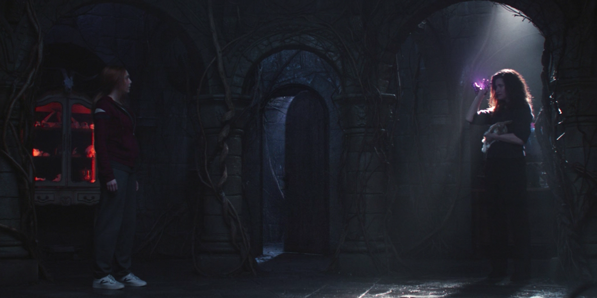 wandavision agatha's lair