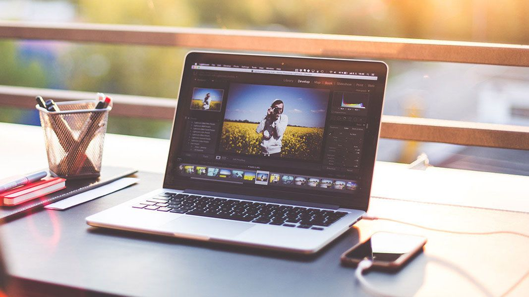 Edit photos with Adobe Photoshop and Lightroom