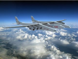 Stratolaunch Rocket artist's impression.