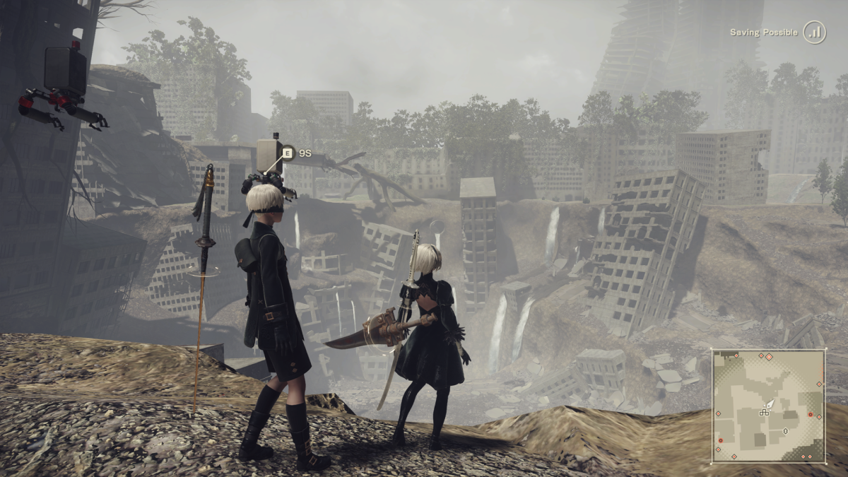 nier automata far patch
