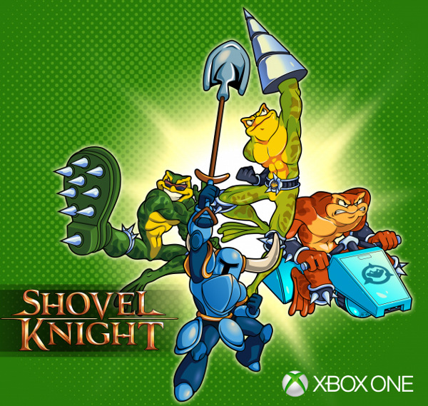 Battletoads and Shovel Knight on Xbox One