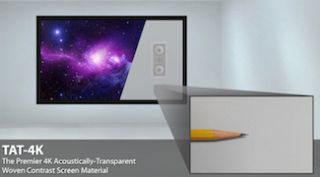 Severtson to Feature TAT-4K, SAT-4K Acoustically Transparent Screens at InfoComm