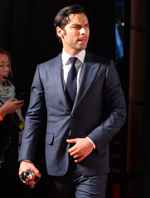 Poldark star Aidan Turner (Ian West)