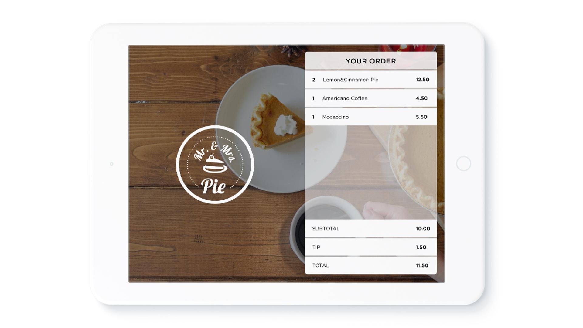 Lightspeed order on an iPad (Image Credit: Lightspeed)