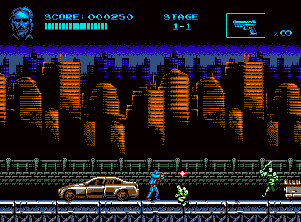Here's John Wick reimagined as a brutally difficult, free NES game   PC Gamer