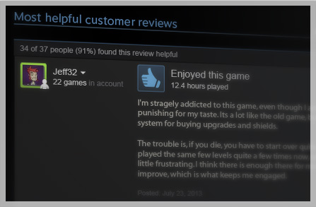 Steam Reviews Open Beta Launches #29812