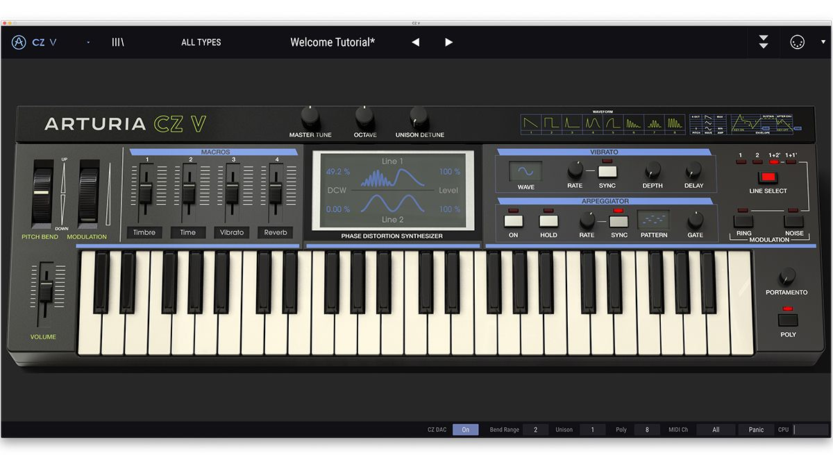 Arturia V Collection 7 comes with new Synthi, CZ and