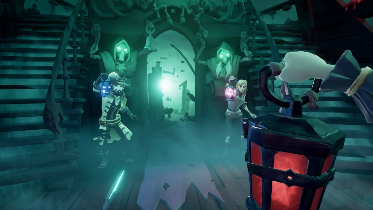 Sea of Thieves' upcoming revive system will let you escape the cold clutches of death