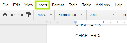 How To Add Or Remove Page Breaks In Google Docs Laptop Mag Before you begin to type out your document on your chromebook, you might find it helpful to change your view in google docs. how to add or remove page breaks in