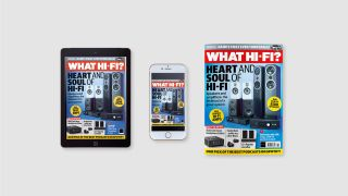 What Hi-Fi? October 2021 issue